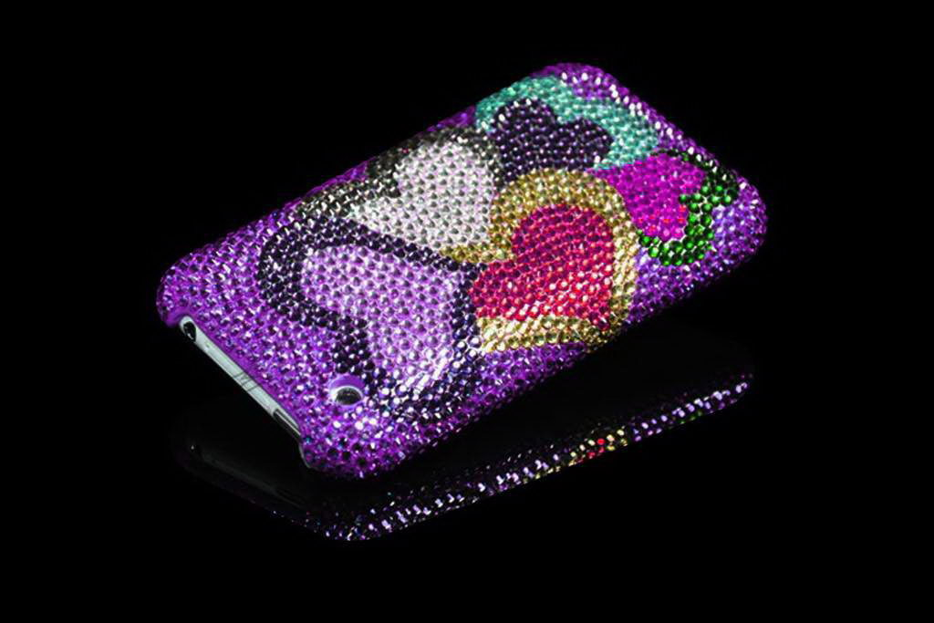 Apple iPhone Swarovski Limited Edition Pink Heart