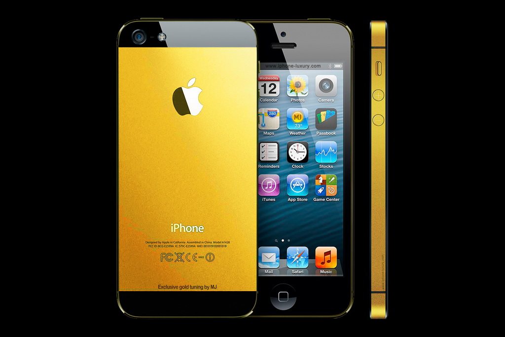 APPLE IPHONE 5 GOLD EDITION by MJ